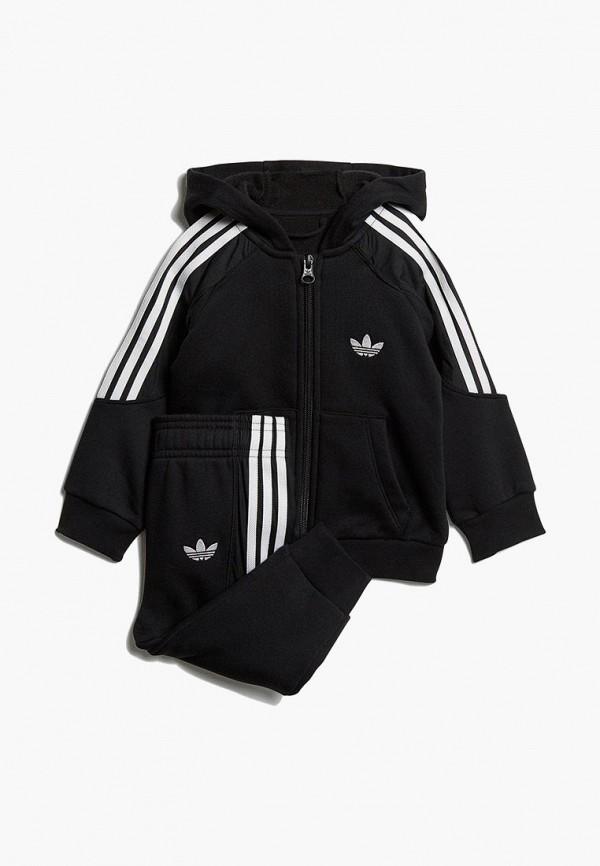 Купить Костюм спортивный adidas Originals, adidas Originals AD093EBEDUP6, черный, Весна-лето 2019