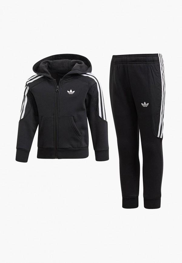 Купить Костюм спортивный adidas Originals, adidas Originals AD093EBEDUP7, черный, Весна-лето 2019