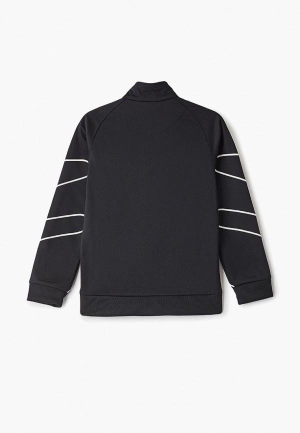 Фото 2 - Олимпийка adidas Originals черного цвета