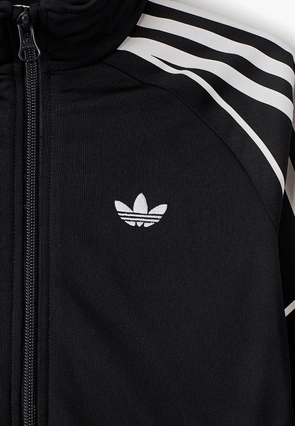 Фото 3 - Олимпийка adidas Originals черного цвета
