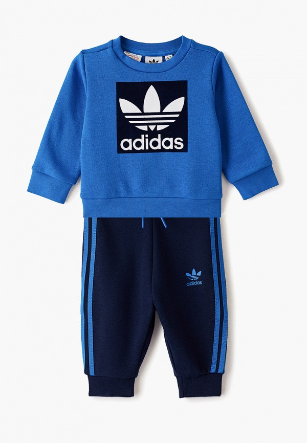 спортивный костюм adidas для мальчика, синий