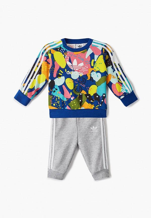 спортивный костюм adidas для мальчика, разноцветный