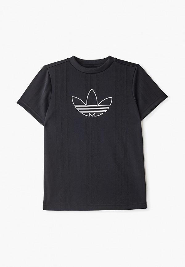 Купить Футболку adidas Originals черного цвета