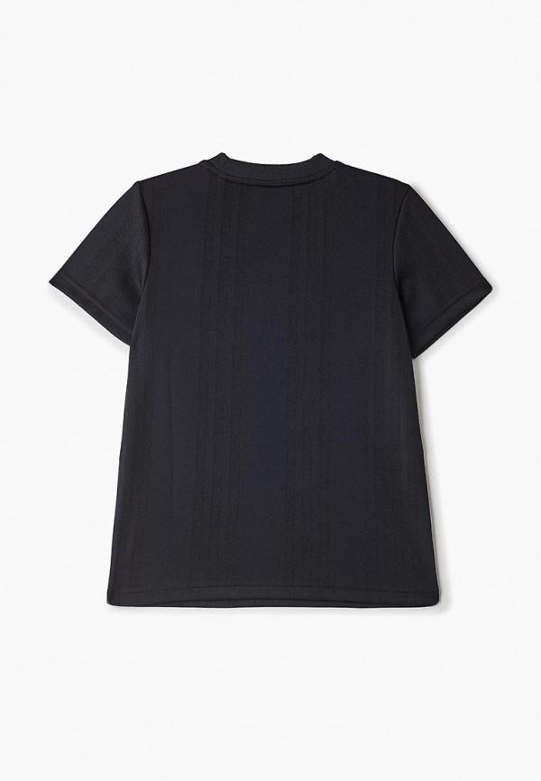 Фото 2 - Футболку adidas Originals черного цвета