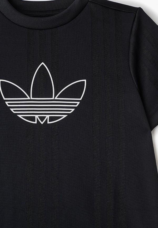 Фото 3 - Футболку adidas Originals черного цвета