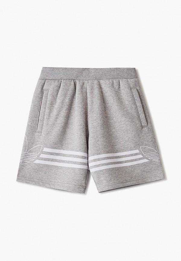 шорты adidas для мальчика, серые