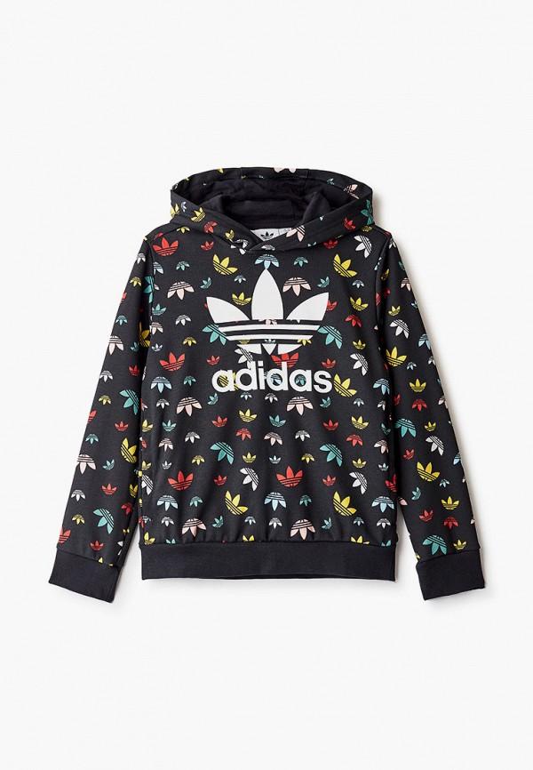 худи adidas для мальчика, черные