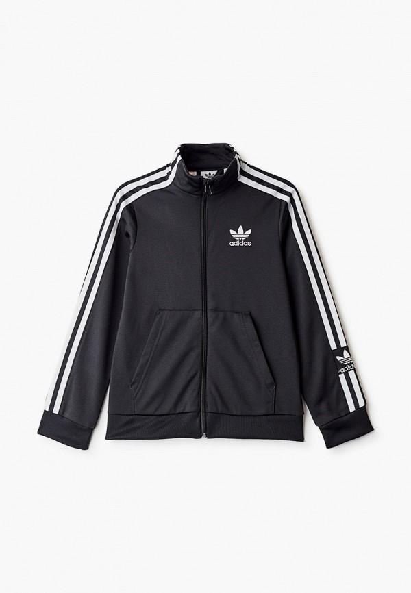 олимпийка adidas для мальчика, черная