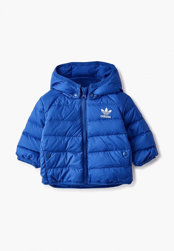 пуховик adidas для мальчика, синий