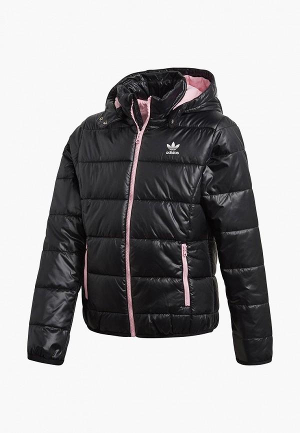 Купить Куртка утепленная adidas Originals, adidas Originals AD093EGCCZO8, черный, Осень-зима 2018/2019