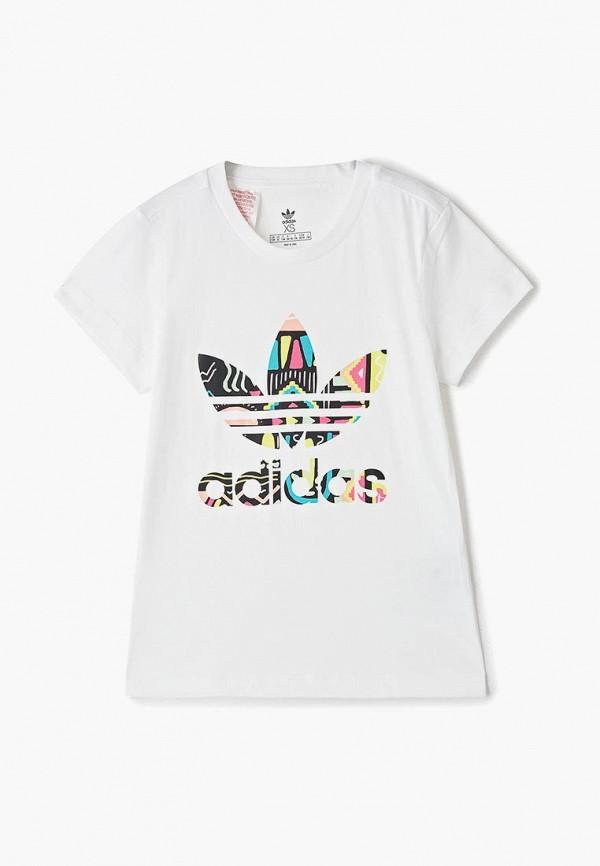 Фото - Футболку adidas Originals белого цвета