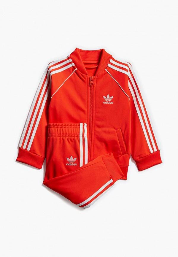 Купить Костюм спортивный adidas Originals, adidas Originals AD093EKEDUP0, красный, Весна-лето 2019