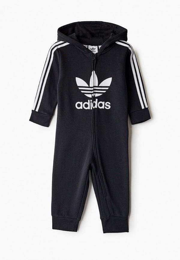 комбинезон adidas малыши, черный