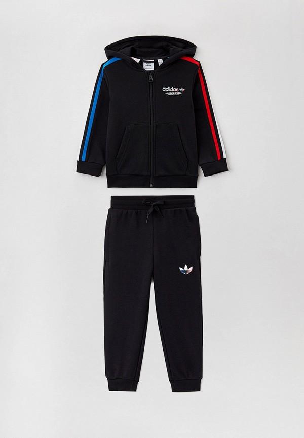 спортивный костюм adidas малыши, черный