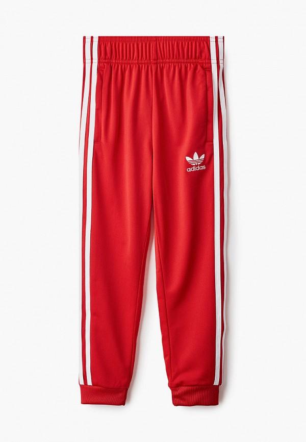 спортивные брюки adidas малыши, красные