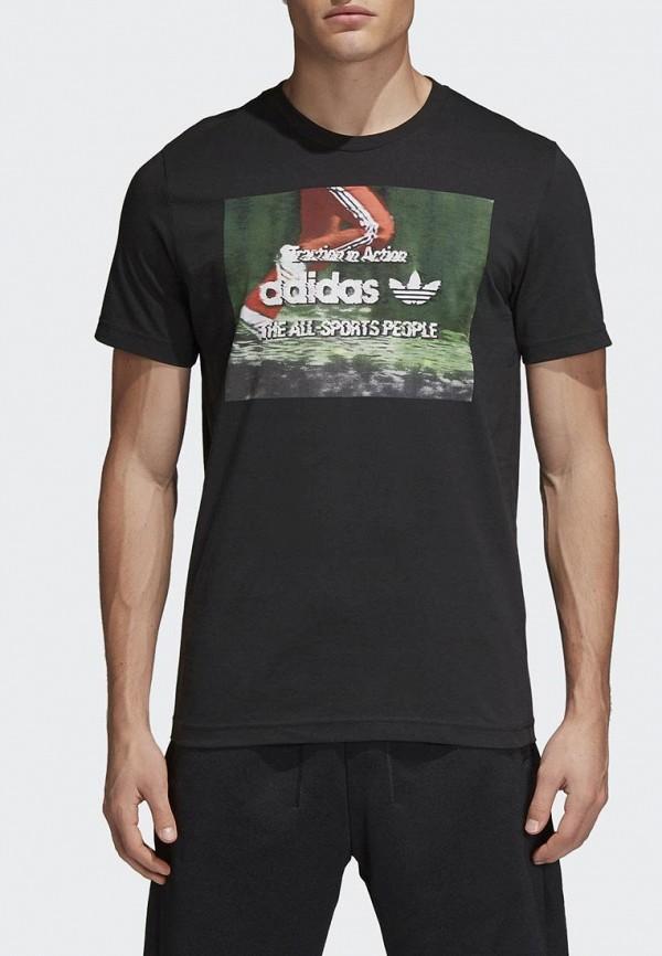 Футболка adidas Originals adidas Originals AD093EMALOE5 лонгслив adidas originals adidas originals ad093ewcczh3