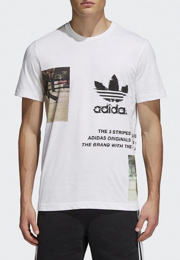 Футболка adidas Originals adidas Originals AD093EMALOE8 браслет из муранского стекла и хрусталя рапсодия