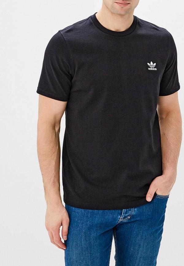 Купить Футболка adidas Originals, adidas Originals AD093EMALOG7, черный, Весна-лето 2018