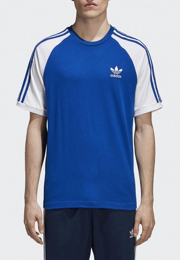 Купить Футболка adidas Originals, adidas Originals AD093EMALOG9, синий, Весна-лето 2018