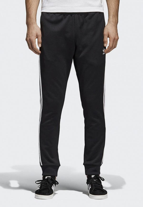 Купить Брюки спортивные adidas Originals, adidas Originals AD093EMALOJ7, черный, Весна-лето 2019