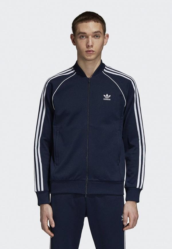 Купить Олимпийка adidas Originals, adidas Originals AD093EMCCZA8, синий, Осень-зима 2018/2019