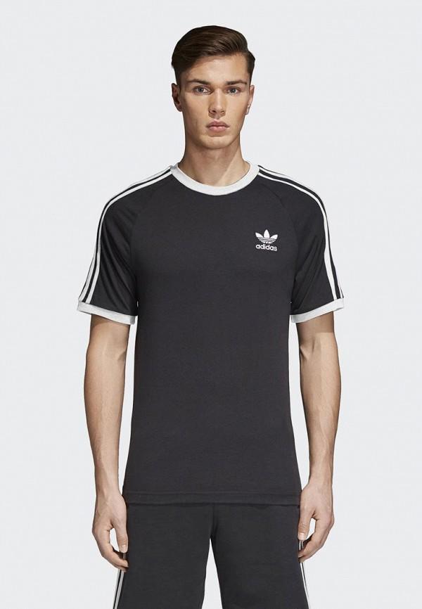Купить Футболка adidas Originals, adidas Originals AD093EMCCZC7, черный, Осень-зима 2018/2019