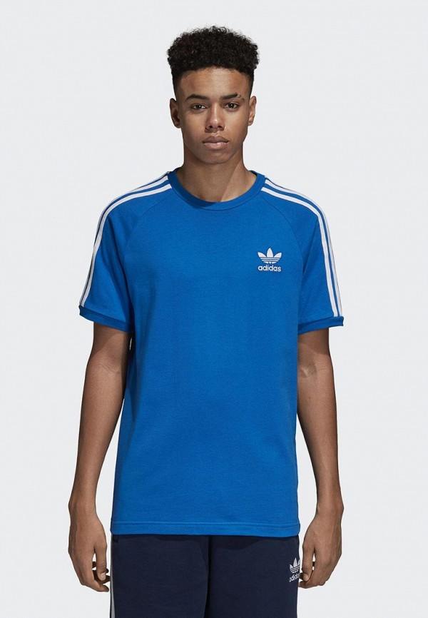 Купить Футболка adidas Originals, adidas Originals AD093EMCCZD1, синий, Осень-зима 2018/2019