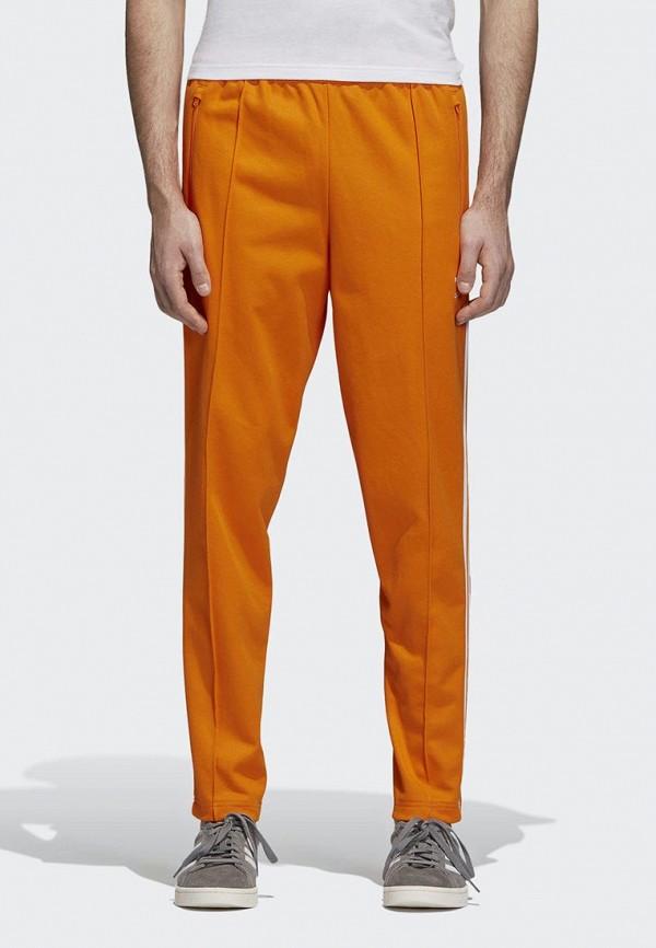 Купить Брюки спортивные adidas Originals, adidas Originals AD093EMCCZD8, оранжевый, Осень-зима 2018/2019
