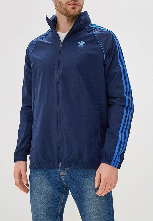 Фото - Ветровка adidas Originals синего цвета