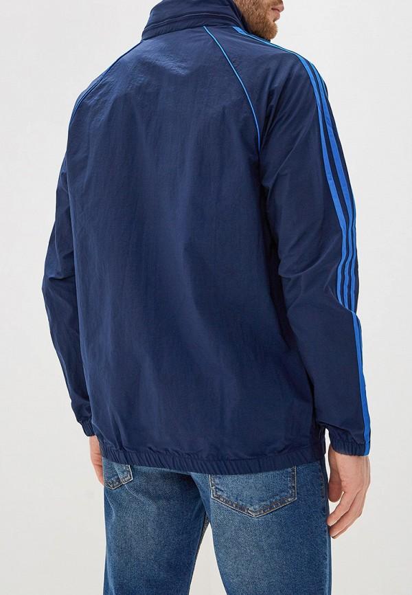Фото 3 - Ветровка adidas Originals синего цвета