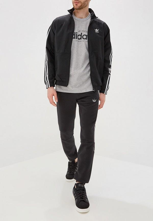 Фото 2 - Ветровка adidas Originals черного цвета