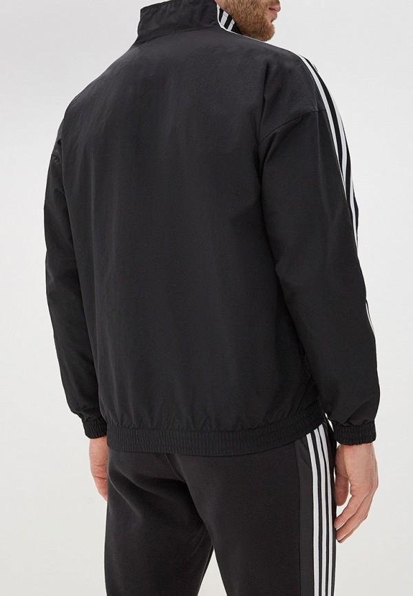 Фото 3 - Ветровка adidas Originals черного цвета