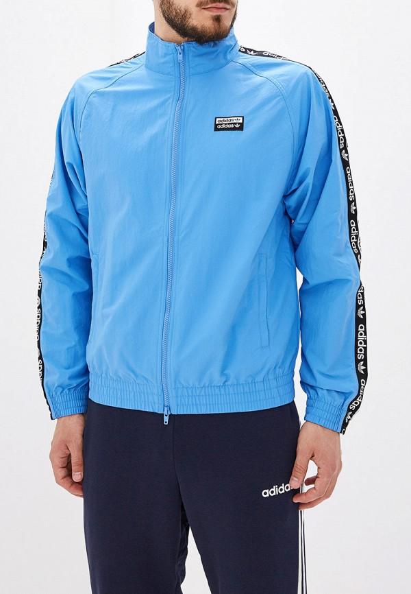 Купить Олимпийка adidas Originals голубого цвета