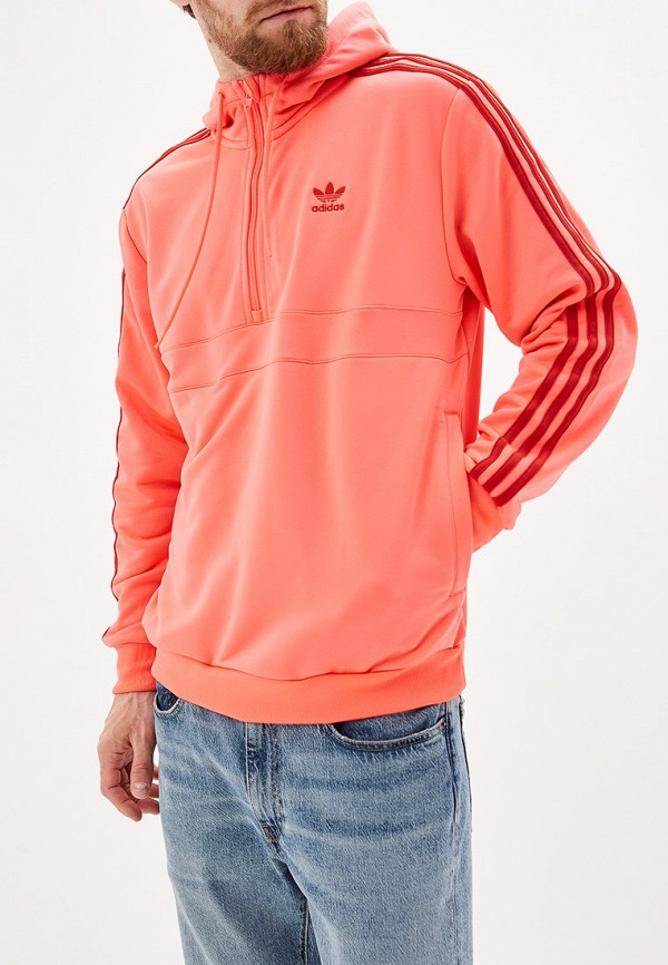 мужская толстовка adidas, розовая