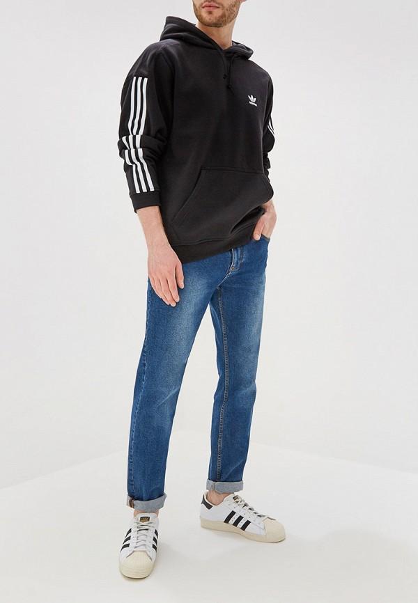 Фото 2 - Худи adidas Originals черного цвета