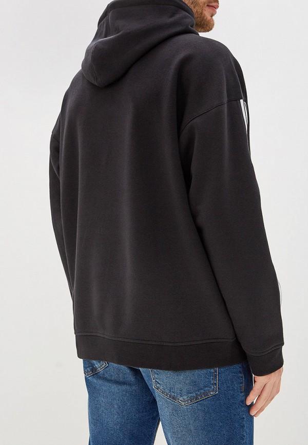 Фото 3 - Худи adidas Originals черного цвета