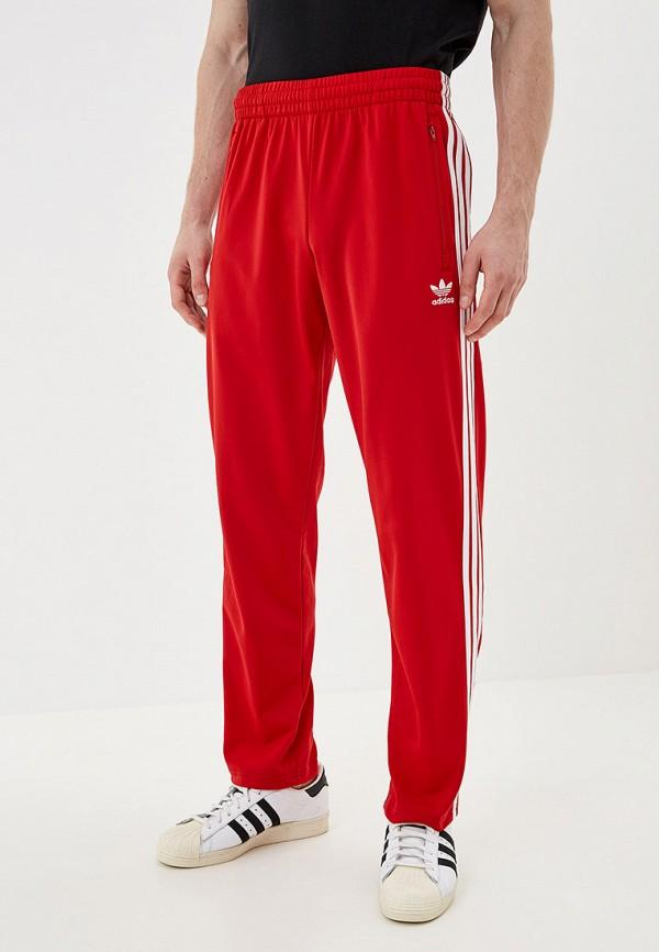 Купить Брюки спортивные adidas Originals красного цвета