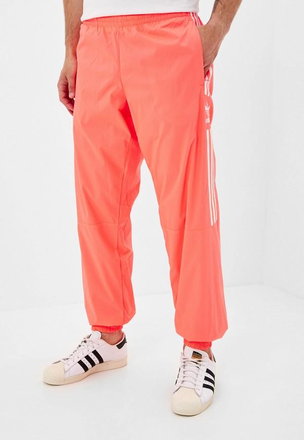 мужские спортивные спортивные брюки adidas, розовые