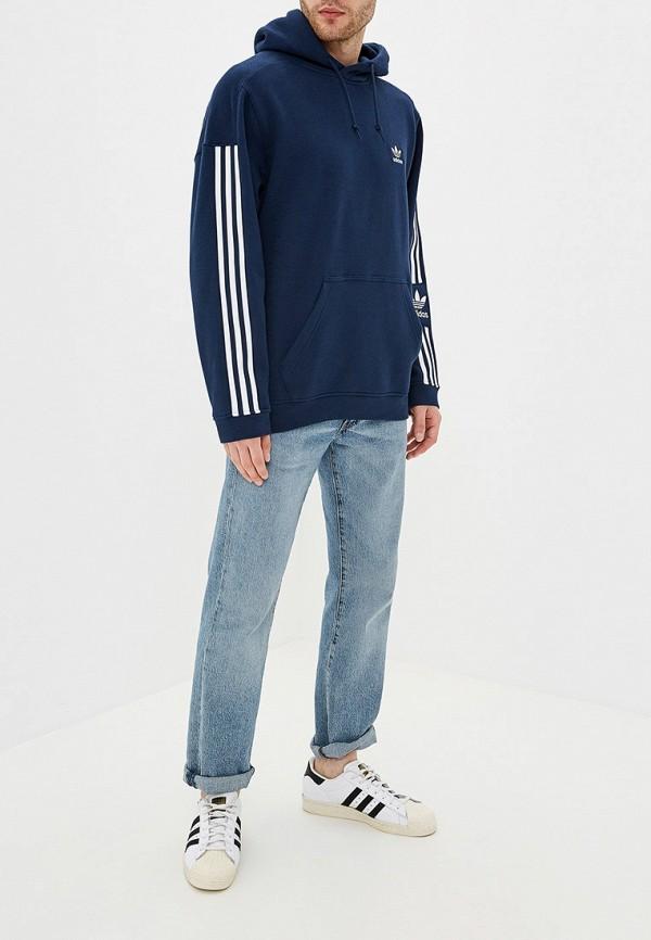 Фото 2 - Худи adidas Originals синего цвета