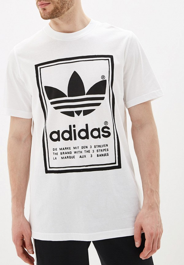 Футболка adidas Originals adidas Originals AD093EMFKXF4 недорго, оригинальная цена