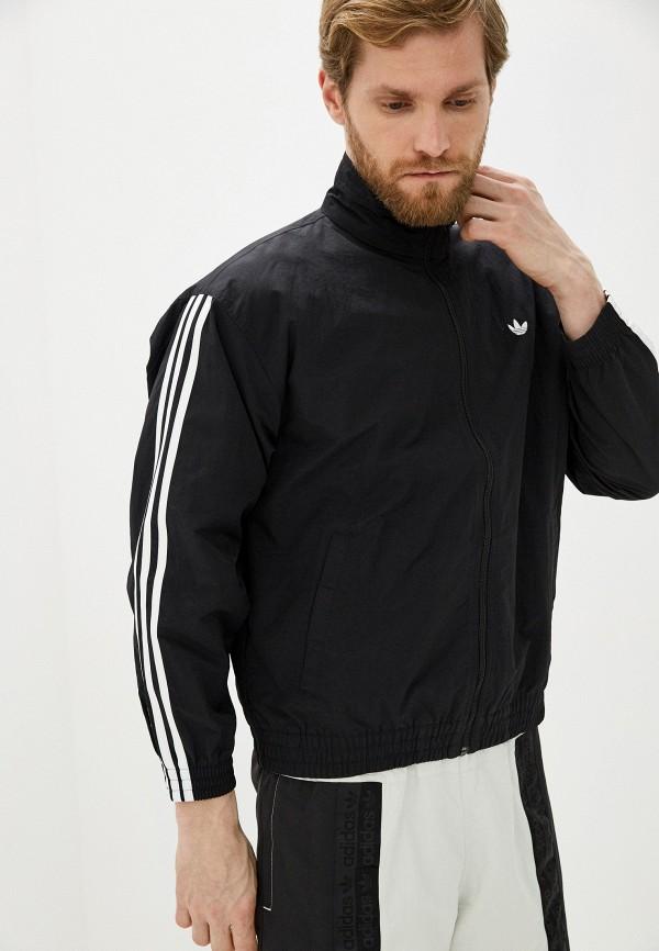 мужская куртка adidas, черная