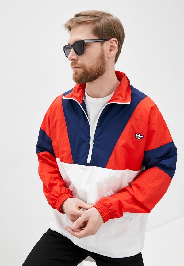 мужская олимпийка adidas, разноцветная