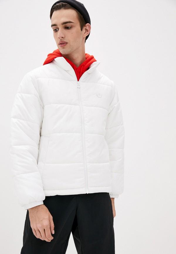 мужская куртка adidas, белая