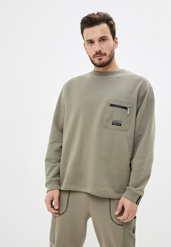 мужской свитшот adidas, хаки