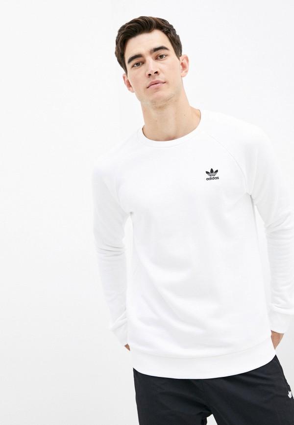 мужской свитшот adidas, белый