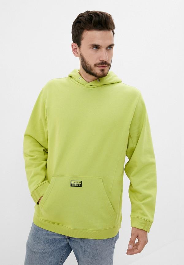 мужские худи adidas, зеленые