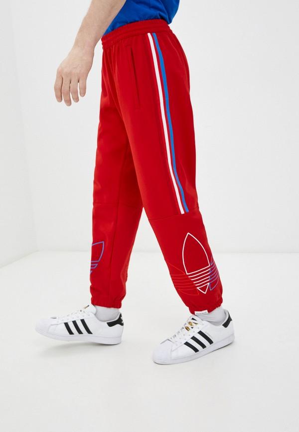 мужские спортивные брюки adidas, красные