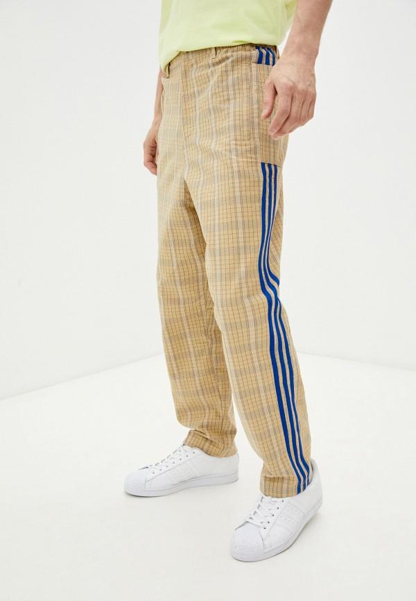 мужские повседневные брюки adidas, бежевые