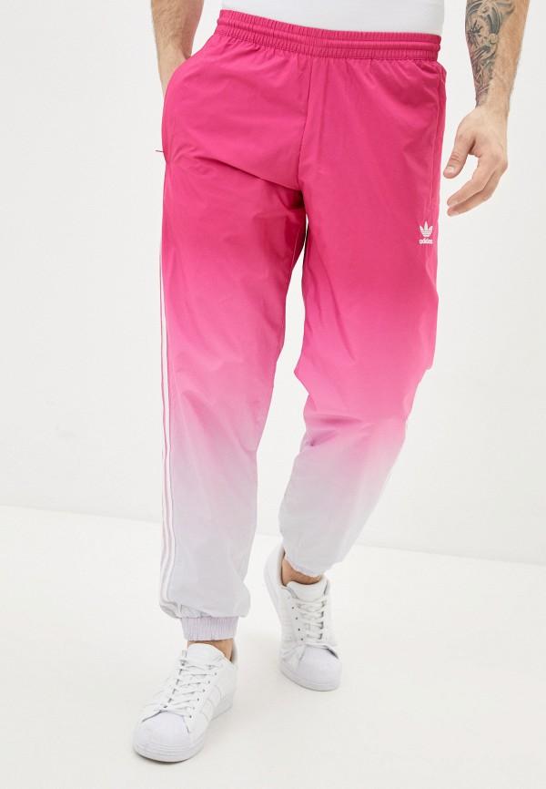 мужские спортивные брюки adidas, розовые
