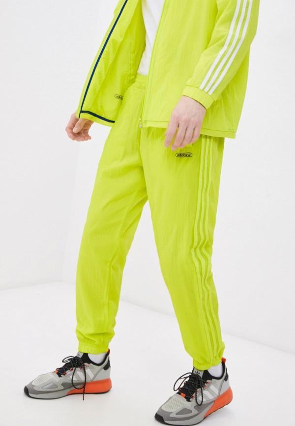 мужские спортивные брюки adidas, зеленые